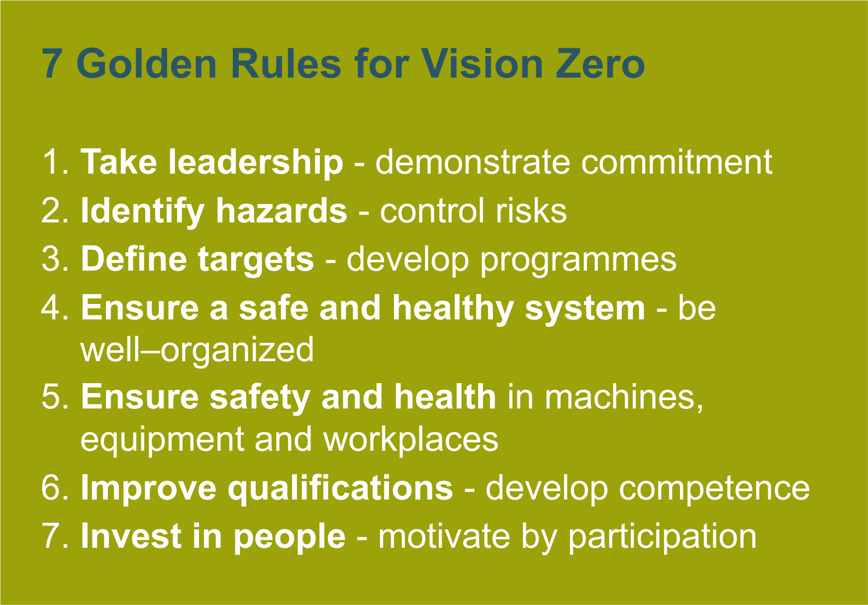 7 golden rulesEN